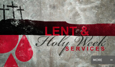Lent & Holy Week Services