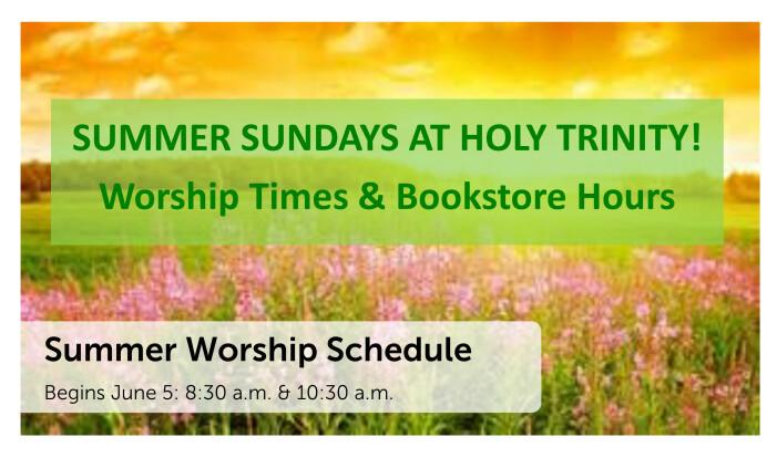 Summer Sundays at Holy Trinity