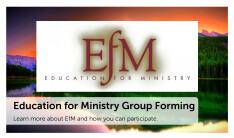 EfM Group Forming