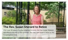 The Rev. Susan Sherard to Retire