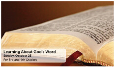 Learning About God's Word