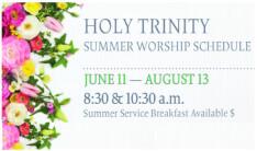 Summer 2017 worship