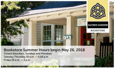 Bookstore Summer Hours 2018