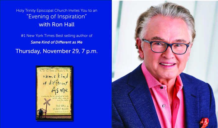 Ron Hall Speaking Event