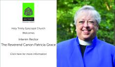 Welcome The Rev. Canon Patricia Grace