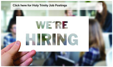 Holy Trinity Job Postings
