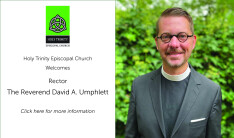 New rector, David Umphlett